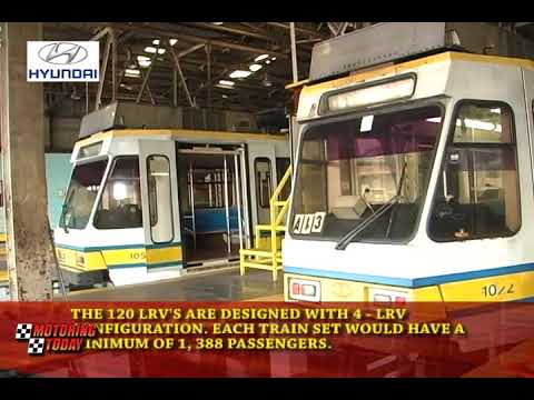 DOTR an Mitsubishi Corp Sign LRT 1 Extension Procurement   Motoring News