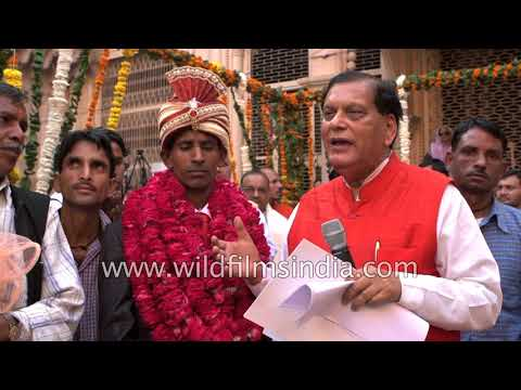 Bindeshwar Pathak, founder of Sulabh international on widow Re-marriage ceremony in Vrindavan