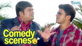 Power Kannada Movie - Puneethrajkumar Sakkath Comedy Plan