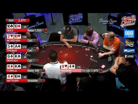 Poker Night in America | Live Stream |  8-9-15 | Turning Stone Casino - Verona, NY (2/2)