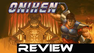 Oniken: The Unstoppable Edition - Review (Video Game Video Review)