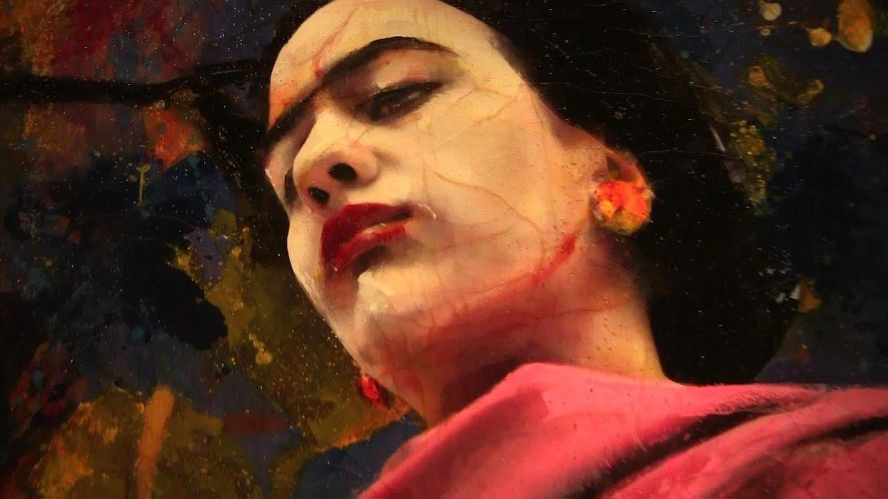 Lita Cabellut in Museum Noord Brabant - YouTube
