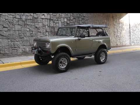 1970 International Harvester Scout  800 for sale
