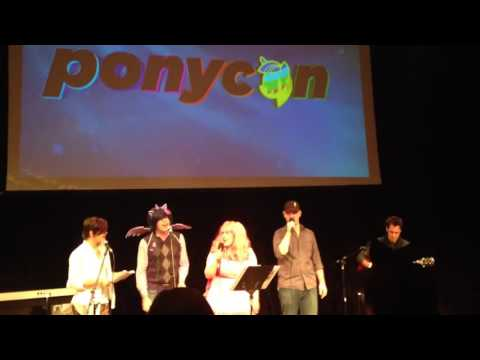 Ponycon Singalong with Daniel Ingram and Andrea Libman   Fi