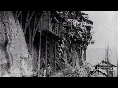 A Stilted City, Chungking, China (1930) - China on Film | BFI National Archive
