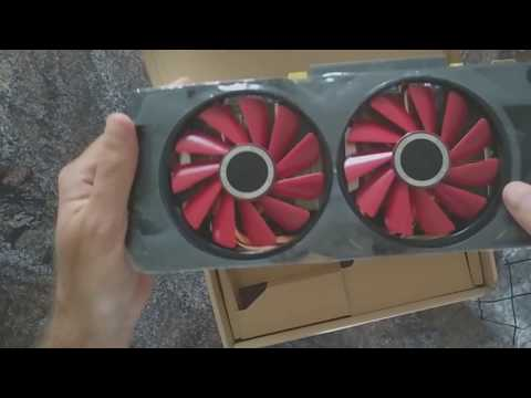 XFX Radeon RX 570 RS Unboxing. $199 with 3 Games.