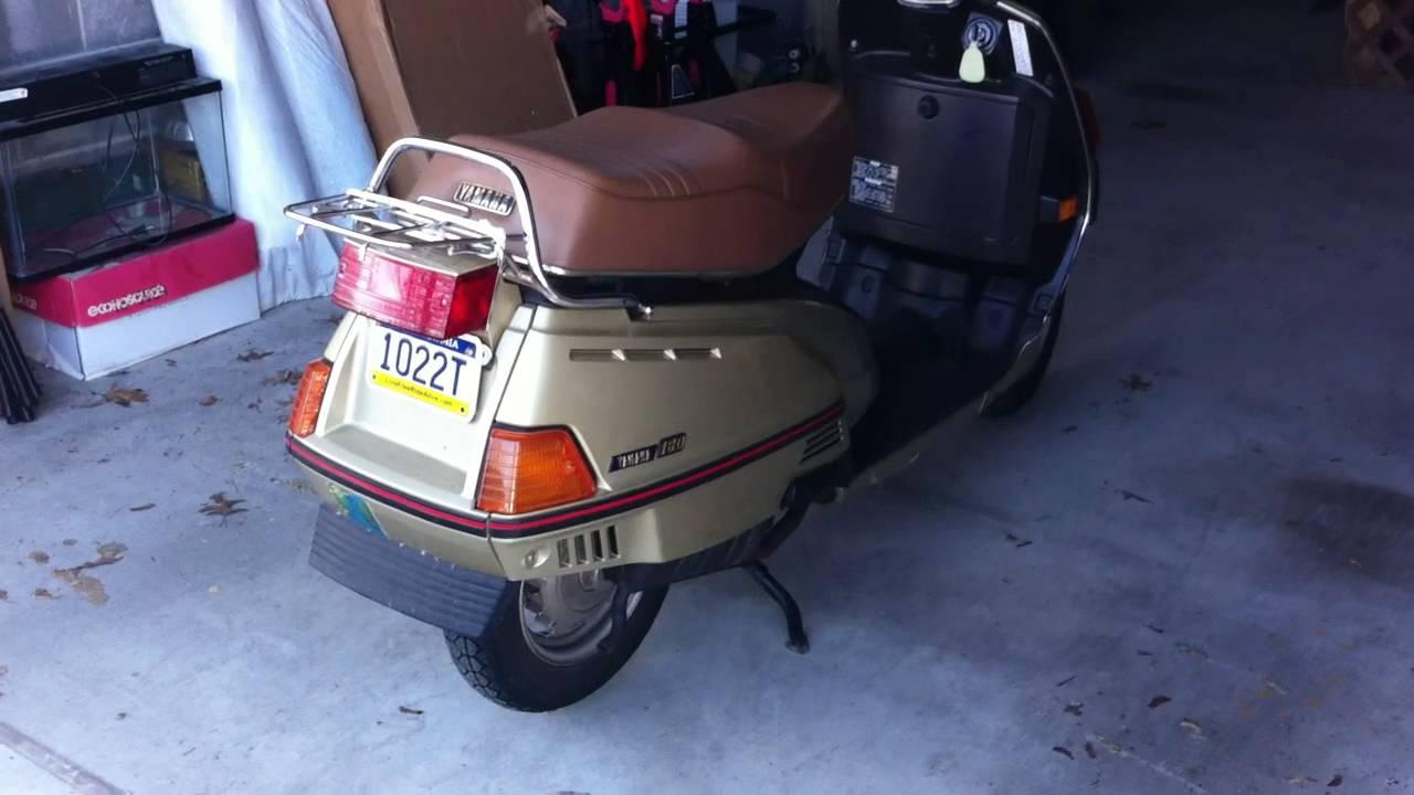 Yamaha Riva  Scooter