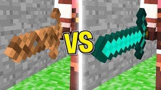 Minecraft ITA - SPADA DI TERRA VS SPADA DI DIAMANTE