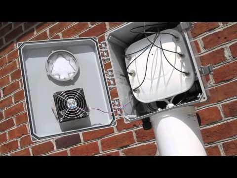 Ventev Wireless Infrastructure's PoE Outdoor Enclosure Solution