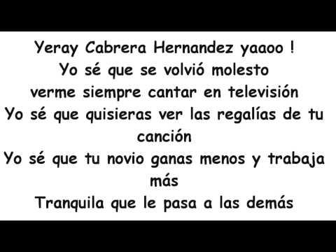 Nicolás Mayorca ft.Cali Y El Dandee - Mi Canción (Letra)