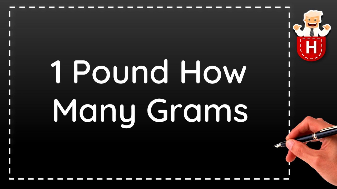 1 Pound How Many Grams You