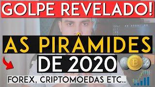 REVELADO as Pirâmides de 2020 Muito Cuidado! Use esse vídeo para SALVAR sua rede e amigos