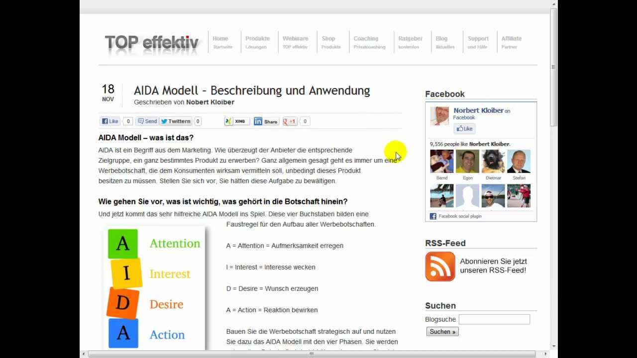 aida modell beschreibung und anwendung - Aida Bewerbung