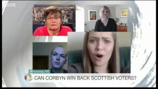 Victoria Derbyshire Show - Anne Begg MP and 3 Voters (Punters)