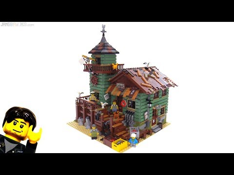 LEGO Ideas Old Fishing Store Review 🎣 21310