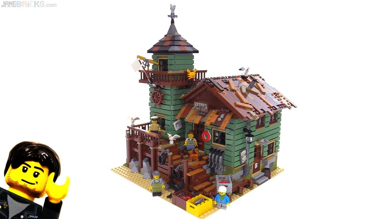 Lego ideas old fishing store review 21310 youtube for Lego ideas old fishing store