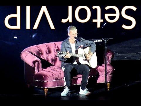 """Setor VIP : : Justin Bieber canta """"Fast Car"""" em São Paulo (02/04/17)."""