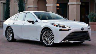 2021 Toyota Mirai (hydrogen electric car) interior, exterior (walkaround review)