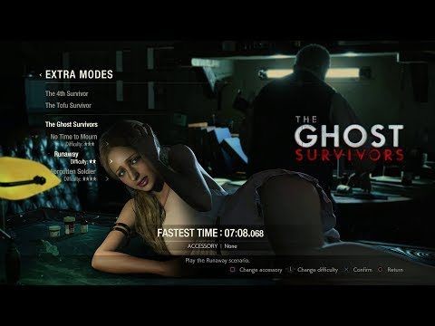 Resident Evil 2 Remake DLC - The Ghost Survivors: Runaway (No Damage)