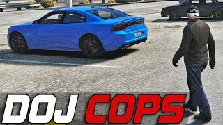 Dept. of Justice Cops #347 - Cuffed Escape (Criminal)