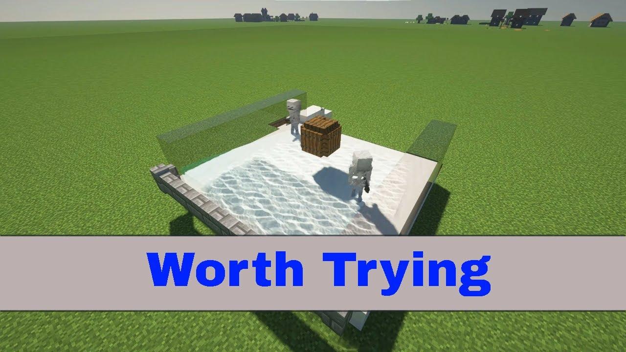 how to make a mob farm (1.16) - YouTube