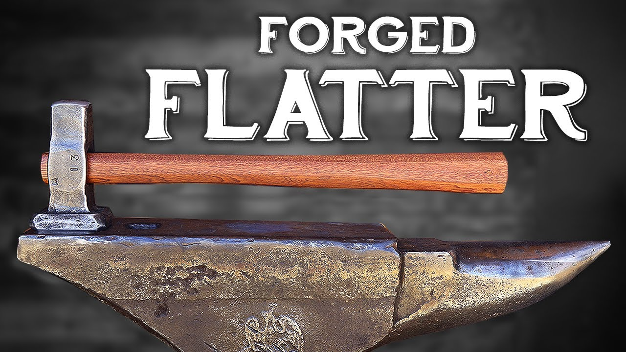 Forging a Flatter   Making Blacksmith Tools