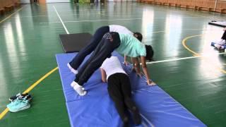 Творчество на уроке гимнастики, групповая работа