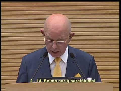 2019-05-14 Seimo vakarinis posėdis Nr. 286