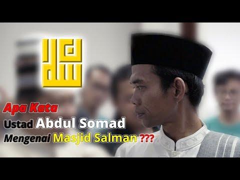 Apa Kata Ustad Abdul Somad Mengenai Salman???