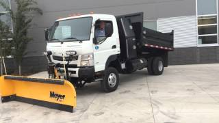 Fuso 4x4 Plow and dump