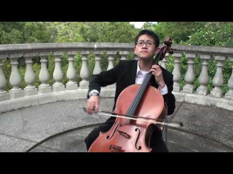 Bach's Cello Suite No.1 Prelude, by Nathan Chan, cellist