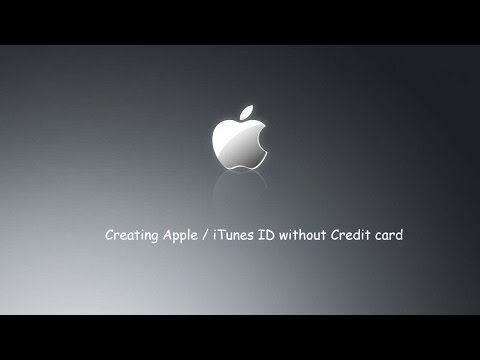 How To Create An Apple Id Without Credit Card Mac Or Pc