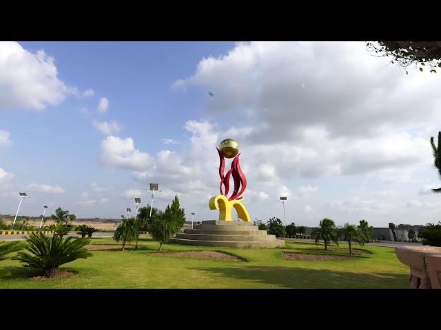 Gulberg Islamabad Monuments Time lapse shot