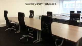Ikea Office Furniture Galant Tables