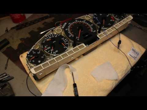 Mercedes 350SDL instrument cluster gauge repair and calibration