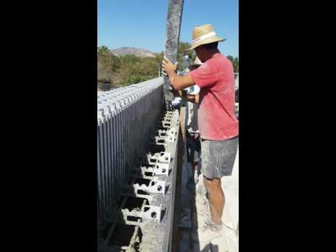 StyroStone ICF concrete pour Moraira5