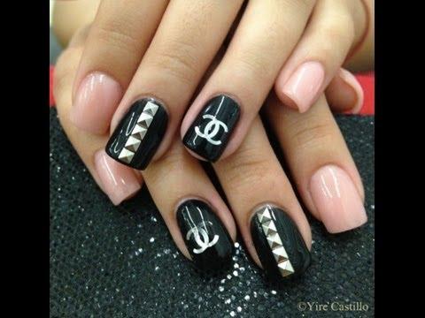 make chanel inspired nails