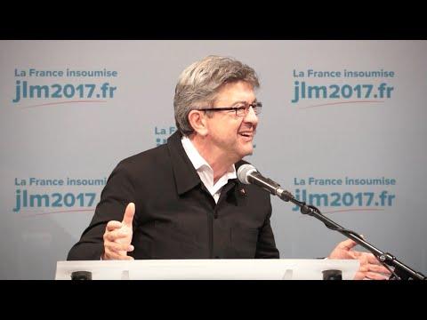Discours de Jean-Luc Mélenchon à Boulogne-sur-Mer