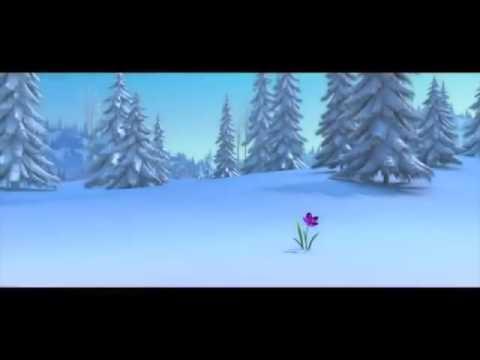 Мультфильм со снеговиком и оленем