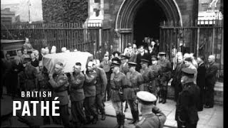Funeral Of Dr. Douglas Hyde - Former President Of Ireland (1949)