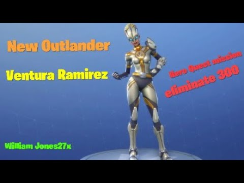Fortnite season 8 new outlander ventura ramirez youtube - Ventura fortnite ...