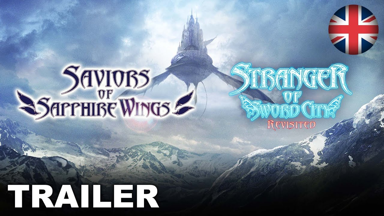 Saviors of Sapphire Wings/Stranger of Sword City Revisited - New Features  Trailer (NSW, PC) (EU) - YouTube