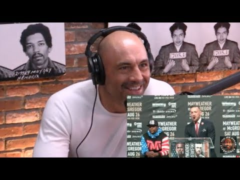 Joe Rogan Reacts To McGregor/Mayweather Face-Off