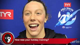 Hali Flickinger is Still Learning How to Recover From Bob Bowman Workouts