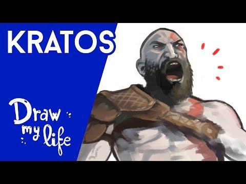 La HISTORIA de KRATOS en GOD OF WAR - Draw My Life