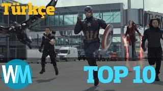Marvel Filmlerindeki En Mükemmel 10 Aksiyon Sahnesi