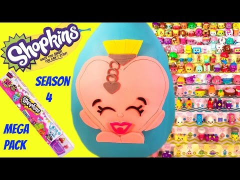 SHOPKINS Limited Edition SALLY SCENT Play Doh Surprise Egg | MEGA PACK Opening Sweetheart Collection
