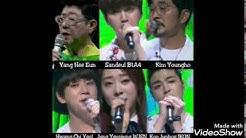 Amazing voice in fantastic duo (June,Sandeul,Yang HeeEun,Yeunjung,ChiYeul,Yungho)