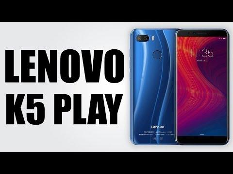 Lenovo K5 Play - 5.7 inch / Android 8.0 Oreo / 3GB RAM + 32GB ROM / 3000mAh battery
