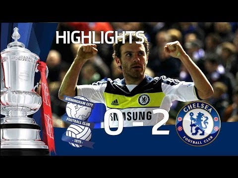 Birmingham 0-2 Chelsea - Mata, Meireles goals & full highlights | FA Cup 06-03-12